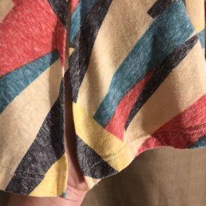 LuLaRoe Tops - LILAROE FADED LOOK PASTEL GEOMETRIC DESIGNED TUNIC